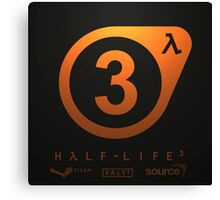 HALF LIFE 3 - CONFIRMED. Canvas Print