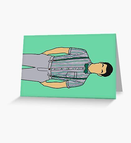 Bowties & Gel Greeting Card