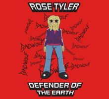 Rose Tyler - Defender of the Earth Kids Tee