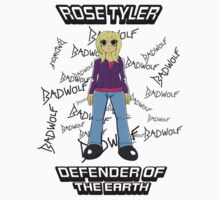 Rose Tyler - Defender of the Earth One Piece - Short Sleeve