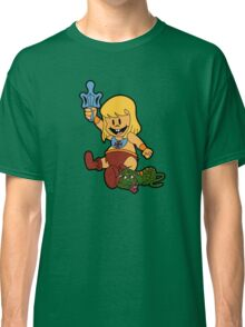 Baby-Man and the Toddlers of the Universe  Classic T-Shirt