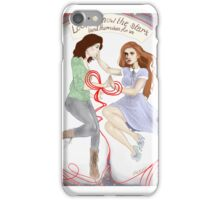 look at how the stars bend themselves for us iPhone Case/Skin