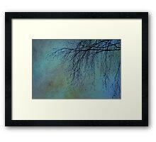 Hanging Tree - JUSTART ©  Framed Print