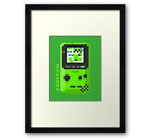 Saffron - Pixel Cities Serie 4/10 Framed Print