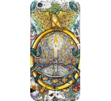 The Illustrated Alphabet Capital O (Fuller Bodied) from THE ILLUSTRATED MAN iPhone Case/Skin