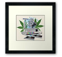 Weed NES Day Framed Print