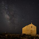 A Huge Galaxy and a Tiny Chapel by Xandru
