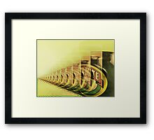 Straight To The Point  ------->  I Love It!  Framed Print