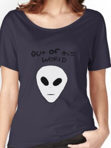 Out of this world alien ~ Women's Relaxed Fit T-Shirt