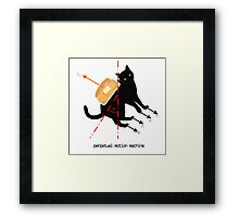 Perpetual motion machine demo Framed Print