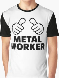 Metal worker Graphic T-Shirt