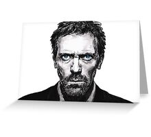 House M.D. - Doctor House Greeting Card