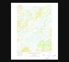 USGS TOPO Map Alaska AK Lake Clark A-8 356964 1954 63360 Unisex T-Shirt