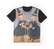Witches' Tea Party Graphic T-Shirt