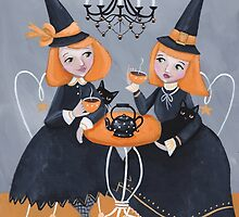 Witches' Tea Party by Ryan Conners