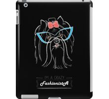 I'm a fashionista iPad Case/Skin