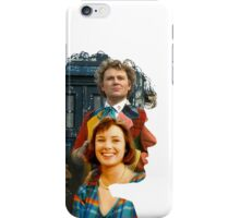Sixth Doctor Silhouette iPhone Case/Skin