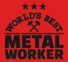 World's best metal worker Kids Tee