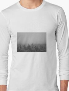 Misty forestry Long Sleeve T-Shirt