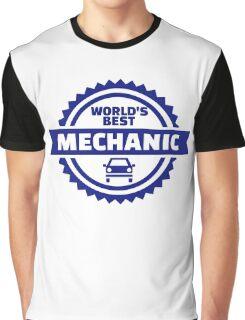 World's best mechanic Graphic T-Shirt