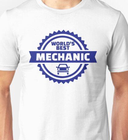 World's best mechanic Unisex T-Shirt