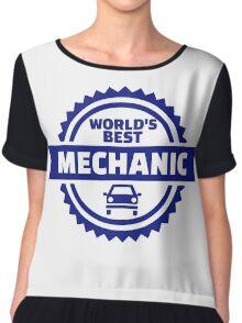 World's best mechanic Chiffon Top