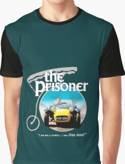 the prisoner  (i'm not a number i am a free man) Graphic T-Shirt