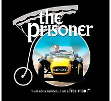 the prisoner  (i'm not a number i am a free man) Photographic Print