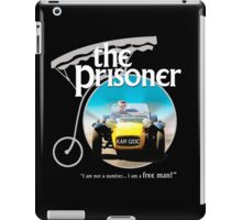 the prisoner  (i'm not a number i am a free man) iPad Case/Skin