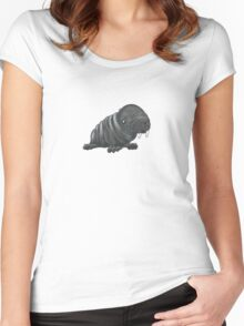 Walrus Wrinkles Women's Fitted Scoop T-Shirt