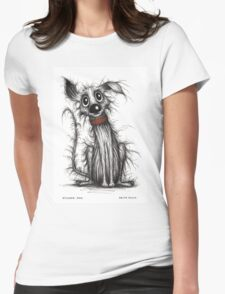 Stinker dog Womens Fitted T-Shirt