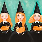 Ginger Witches & Ginger Cats by Ryan Conners