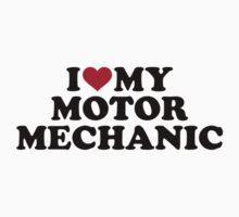 I love my motor mechanic One Piece - Long Sleeve