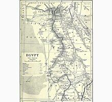 Vintage Map of Egypt (1911) Unisex T-Shirt