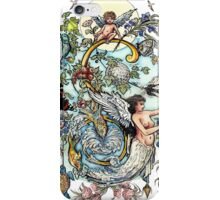 The Illustrated Alphabet Capital S (Fuller Bodied) from THE ILLUSTRATED MAN iPhone Case/Skin