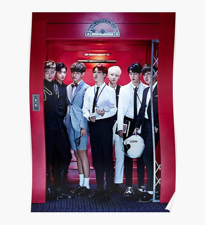 BTS GROUP - DOPE Poster