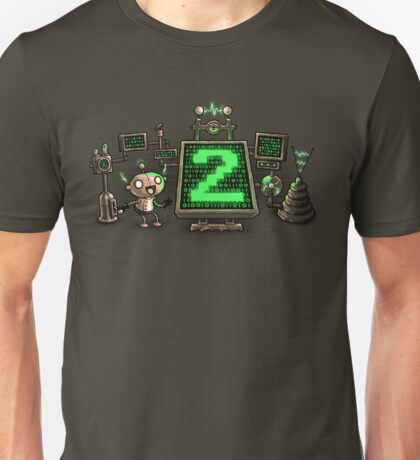 Mad Sciencebot Unisex T-Shirt