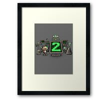 Mad Sciencebot Framed Print
