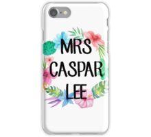 Mrs Caspar Lee – Floral, YouTube iPhone Case/Skin