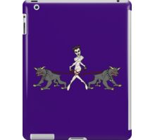 Gozer Walks Her Terror Dogs iPad Case/Skin