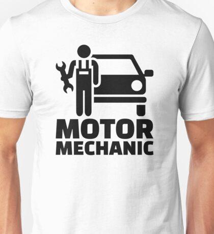 Motor mechanic Unisex T-Shirt