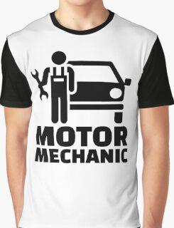Motor mechanic Graphic T-Shirt