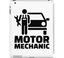 Motor mechanic iPad Case/Skin