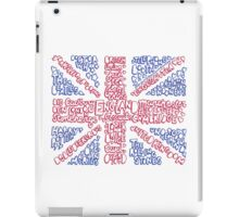 British Flag Collage iPad Case/Skin
