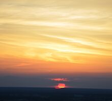 Sunset view from the TV tower in Berlin by bbgon