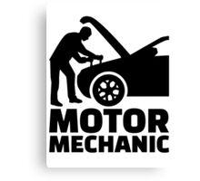 Motor mechanic Canvas Print