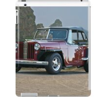 1949 Willys-Overland 'Jeepster' iPad Case/Skin