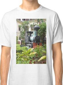 Train in garden Classic T-Shirt