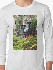 Train in garden Long Sleeve T-Shirt