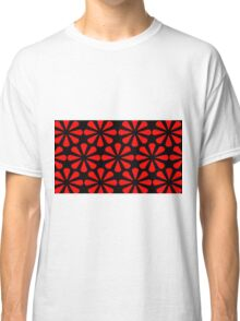 Black - Red Slices Classic T-Shirt